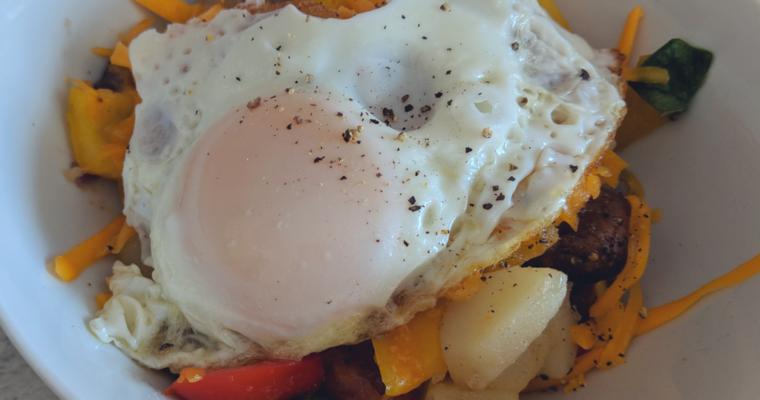 Sausage Breaky Bowl Recipe | Brunch Idea