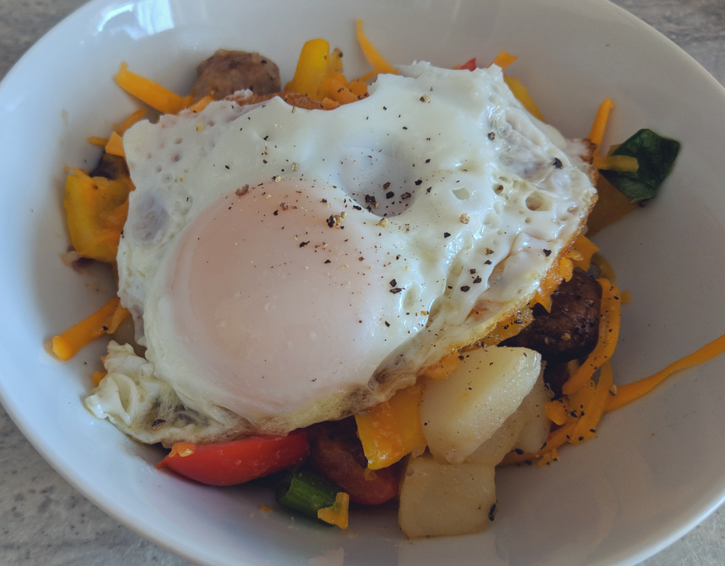 Sausage Breaky Bowl Recipe | Brunch Idea