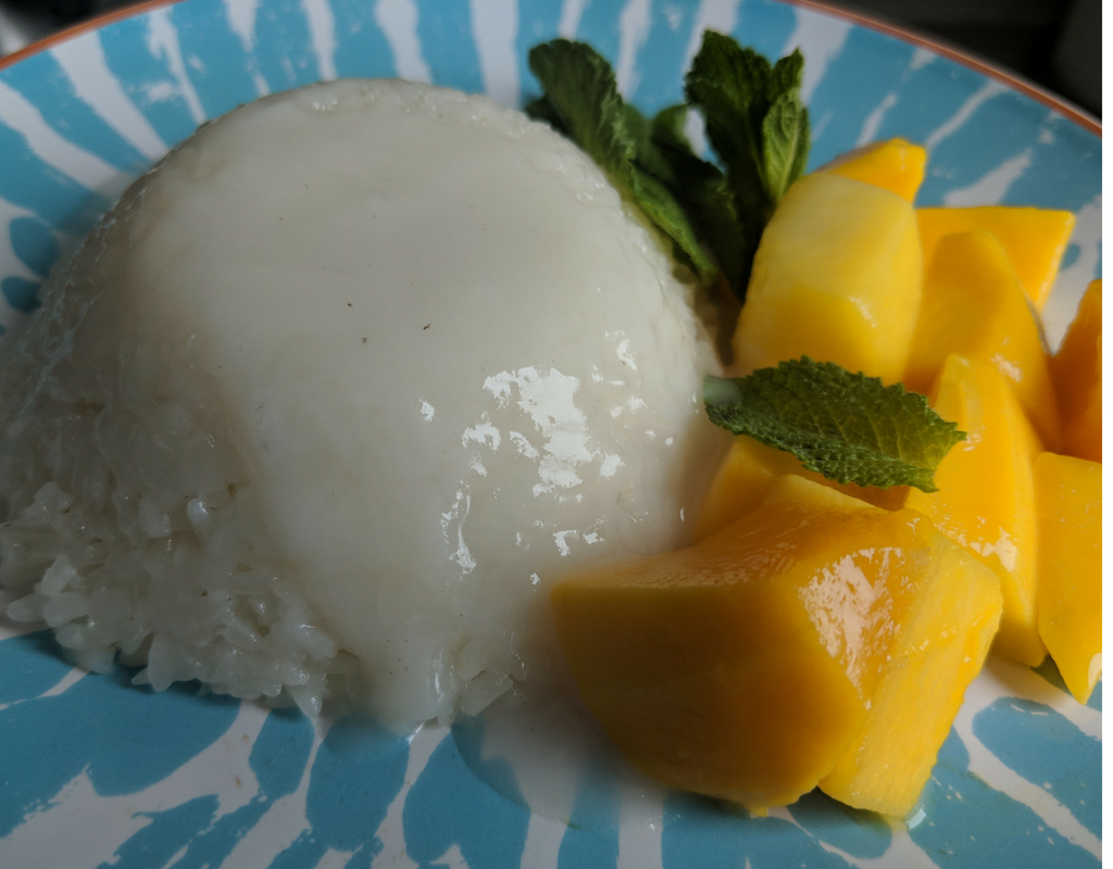 How To Make Mango Sticky Rice Dessert