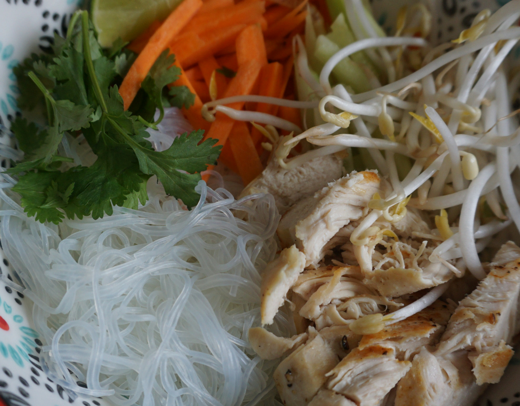 How To Make Chicken Vermicelli Bowl
