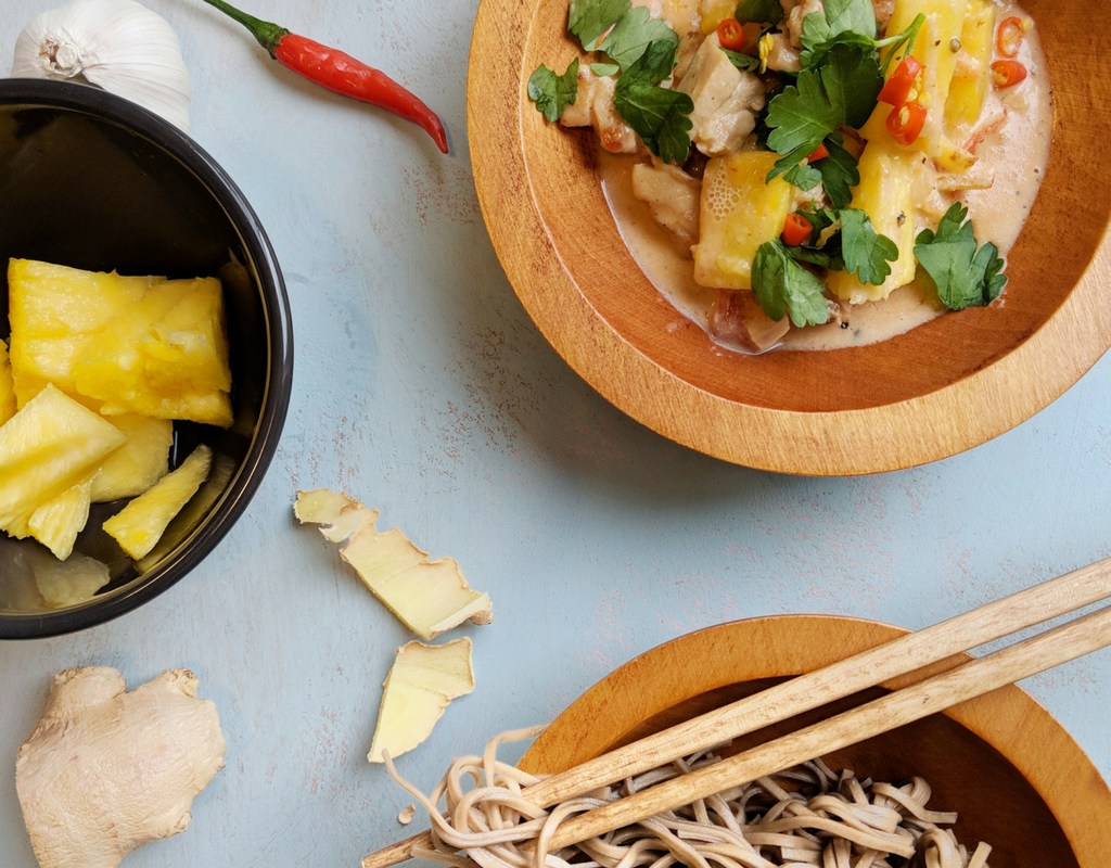 Easy Coconut Chicken with Pineapple Recipe