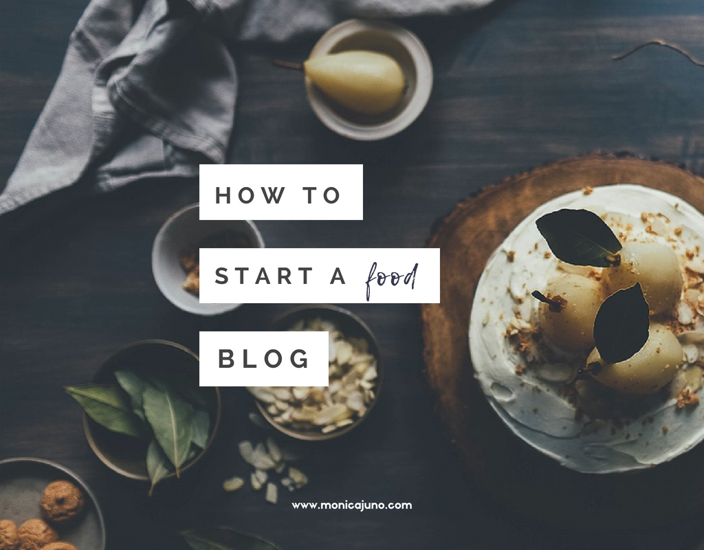 How to start a food blog. Learn from a food blogger, Monica Juno, of Spoon Belly.