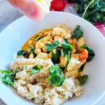 Chicken and Chickpea Coconut Curry with Turmeric